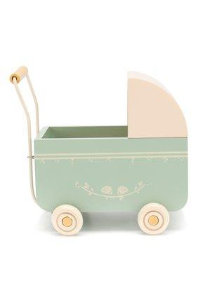 Детского игрушка коляска для новорожденных MAILEG голубого цвета, арт. 11-8001-01   Фото 2