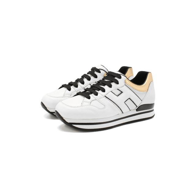 Кожаные кроссовки Hogan — Кожаные кроссовки