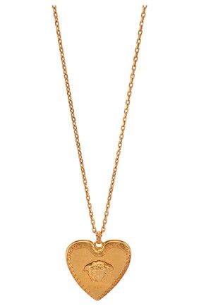 Женская кулон tribute VERSACE золотого цвета, арт. DG1H050/DJMT | Фото 2