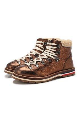 Кожаные ботинки Blanche | Фото №1