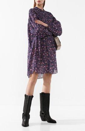 Женские кожаные сапоги SEE BY CHLOÉ черного цвета, арт. SB33026A/10140 | Фото 2