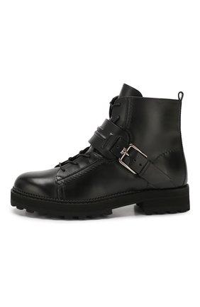 Кожаные ботинки   Фото №3