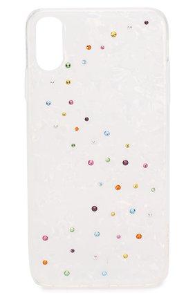 Мужской чехол для iphone xs max BLING MY THING белого цвета, арт. IPXS-L-MW-WH-CCD | Фото 1