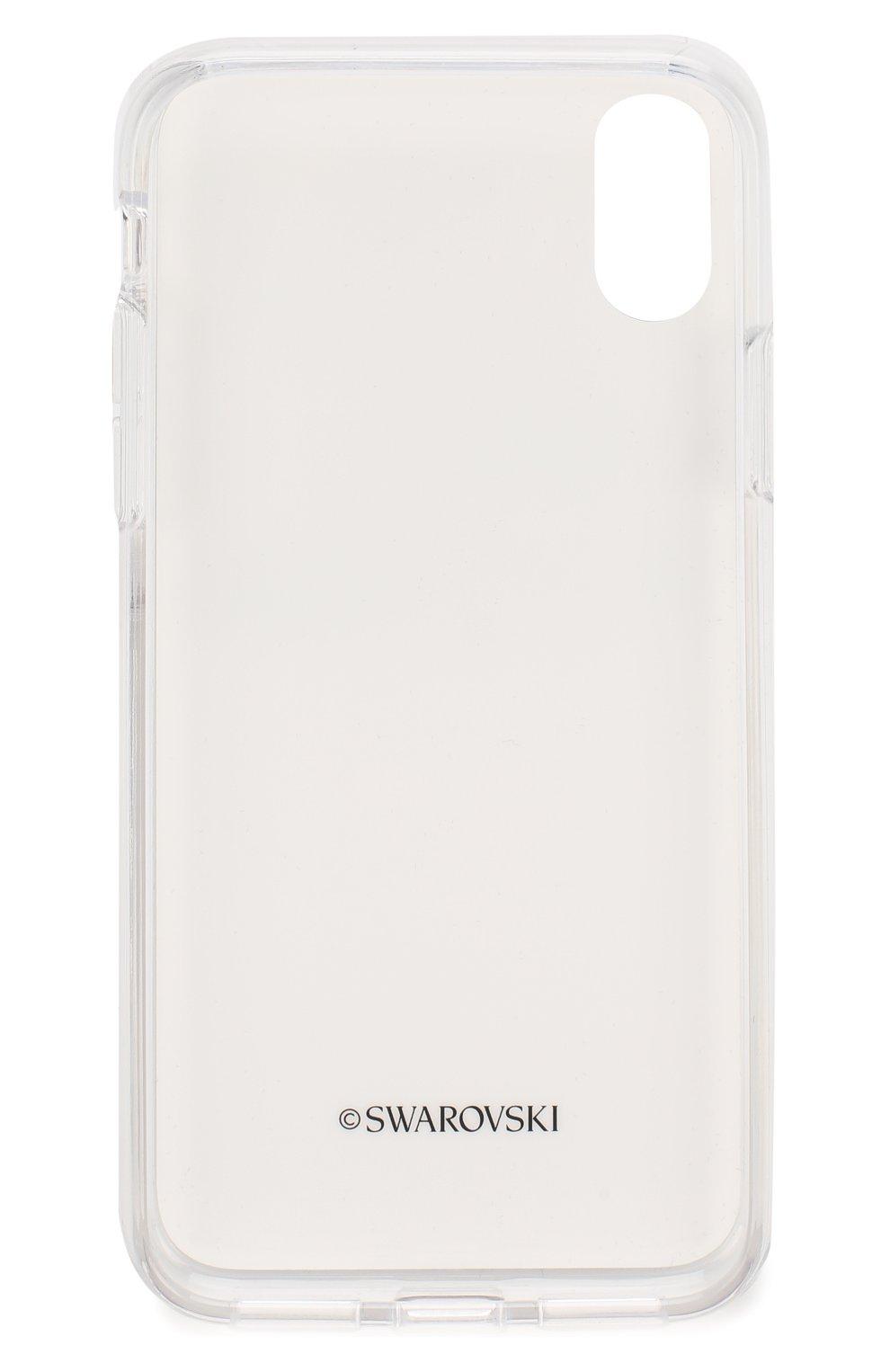 Мужской чехол для iphone x/xs SWAROVSKI серого цвета, арт. 5507694 | Фото 2