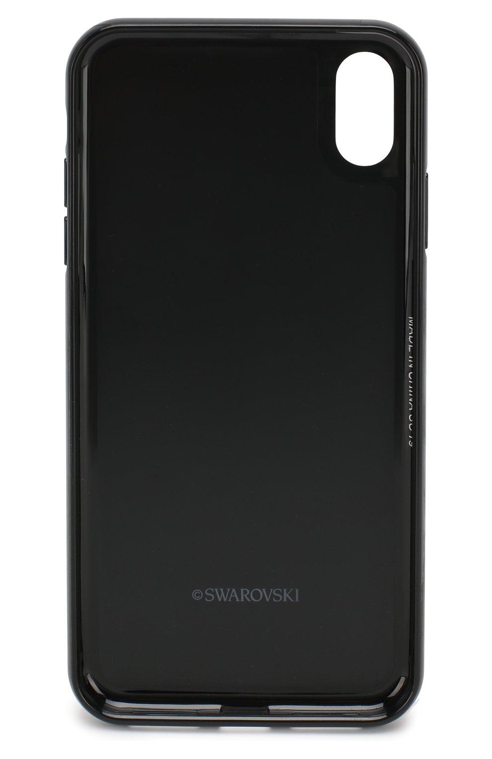 Мужской чехол для iphone xs max SWAROVSKI серебряного цвета, арт. 5515013   Фото 2