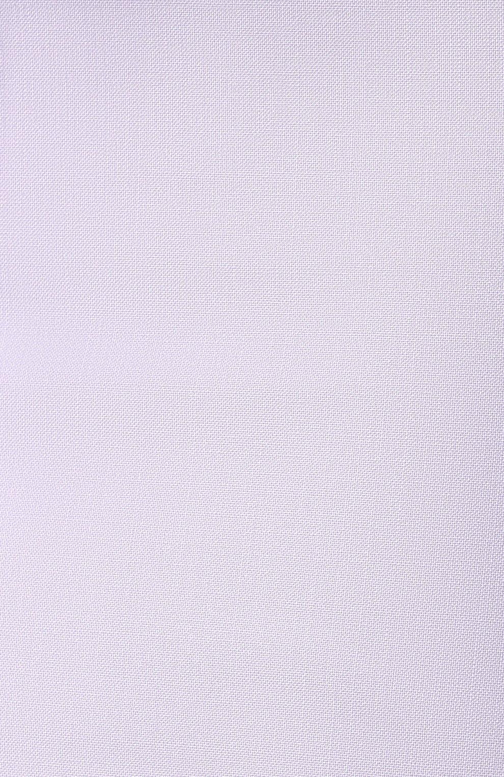 Женская шерстяная юбка BOSS светло-серого цвета, арт. 50411016 | Фото 5