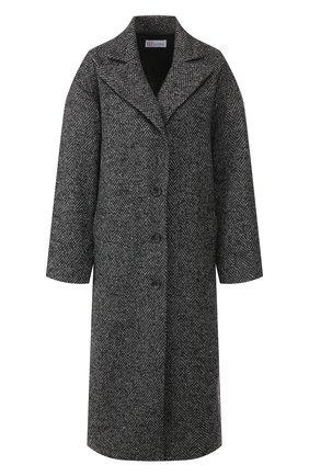 Женское пальто REDVALENTINO темно-серого цвета, арт. SR0CAA95/4H4 | Фото 1