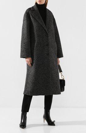 Женское пальто REDVALENTINO темно-серого цвета, арт. SR0CAA95/4H4 | Фото 2
