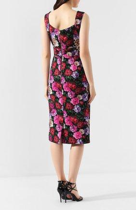 Платье из смеси хлопка и вискозы   Фото №4