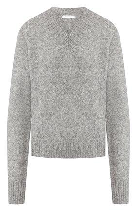 Женская шерстяной свитер HELMUT LANG серого цвета, арт. J07HW708 | Фото 1