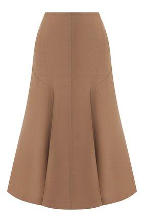 Женская юбка-миди JOSEPH бежевого цвета, арт. JF003427 | Фото 1