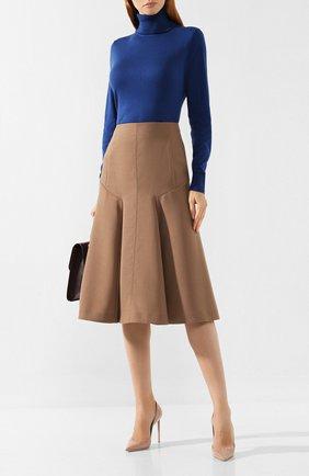 Женская юбка-миди JOSEPH бежевого цвета, арт. JF003427 | Фото 2