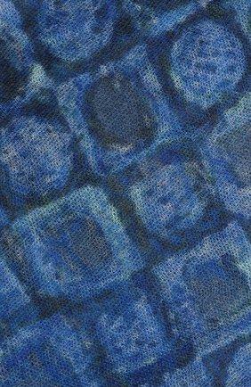 Мужской кашемировый шарф KITON синего цвета, арт. USCIACX02S61 | Фото 2