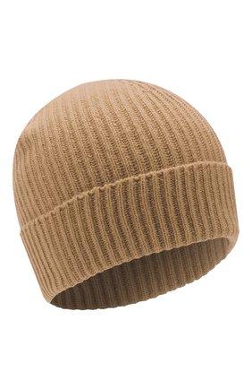 Мужская кашемировая шапка JOHNSTONS OF ELGIN бежевого цвета, арт. HAE01941/M | Фото 1