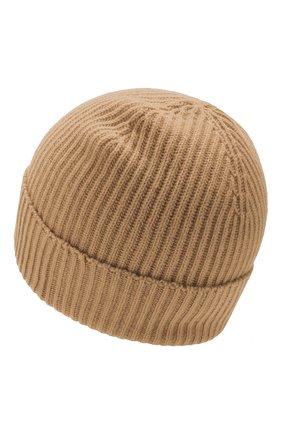 Мужская кашемировая шапка JOHNSTONS OF ELGIN бежевого цвета, арт. HAE01941/M | Фото 2