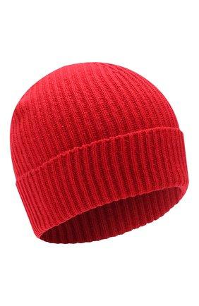 Мужская кашемировая шапка JOHNSTONS OF ELGIN красного цвета, арт. HAE01941/M   Фото 1