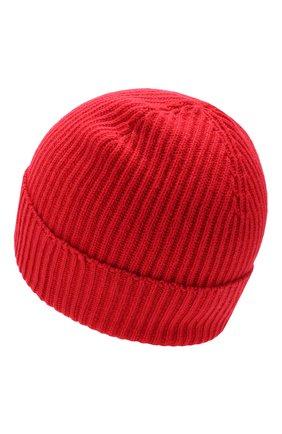 Мужская кашемировая шапка JOHNSTONS OF ELGIN красного цвета, арт. HAE01941/M   Фото 2