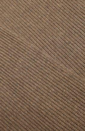 Мужской кашемировый шарф JOHNSTONS OF ELGIN темно-бежевого цвета, арт. HAA01684/M | Фото 2