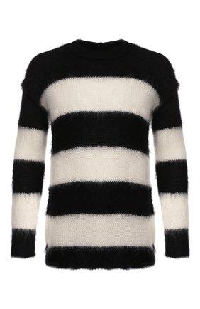 Мужской свитер ISABEL BENENATO черно-белого цвета, арт. UK111F19 | Фото 1