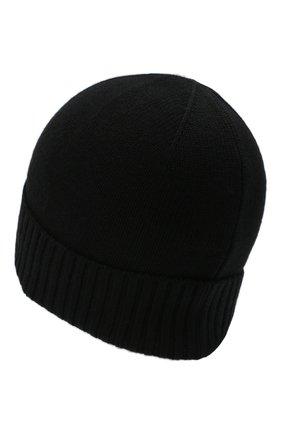 Мужская шерстяная шапка POLO RALPH LAUREN черного цвета, арт. 710761415 | Фото 2