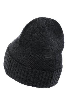 Мужская шерстяная шапка POLO RALPH LAUREN темно-серого цвета, арт. 710761415 | Фото 2