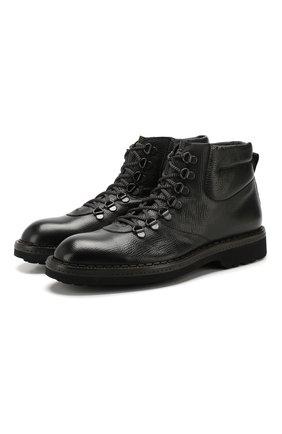 Мужские кожаные ботинки BARRETT черного цвета, арт. 182U089.12/RAM0N | Фото 1