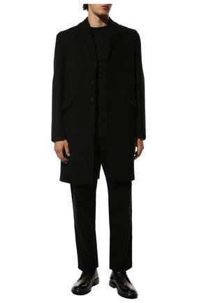 Мужские кожаные ботинки MOMA черного цвета, арт. 2BW006-CU | Фото 2