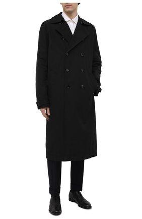 Мужские кожаные оксфорды H`D`S`N BARACCO черного цвета, арт. 58305.3* | Фото 2