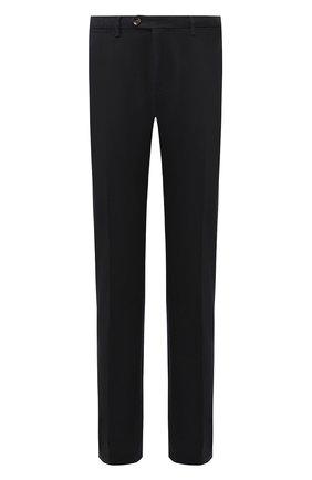 Мужской хлопковые брюки CORNELIANI темно-синего цвета, арт. 844ET7-9820159/00 | Фото 1