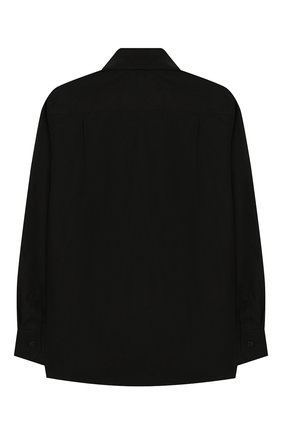 Детская хлопковая рубашка DOLCE & GABBANA черного цвета, арт. L42S95/G7SR0/2-6 | Фото 2
