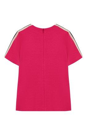 Детский футболка из вискозы GUCCI фуксия цвета, арт. 578063/XJBEB | Фото 2