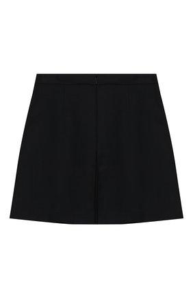 Детская шерстяная юбка GUCCI темно-синего цвета, арт. 577334/XWAF8 | Фото 2