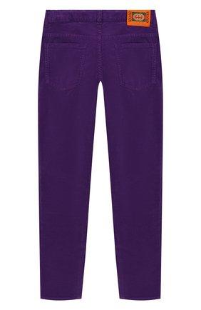 Детского джинсы GUCCI фиолетового цвета, арт. 572183/XDAN0 | Фото 2