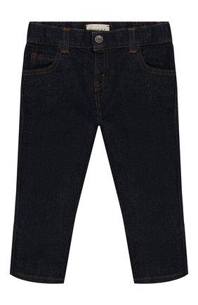 Детские джинсы GUCCI синего цвета, арт. 475620/XR224 | Фото 1