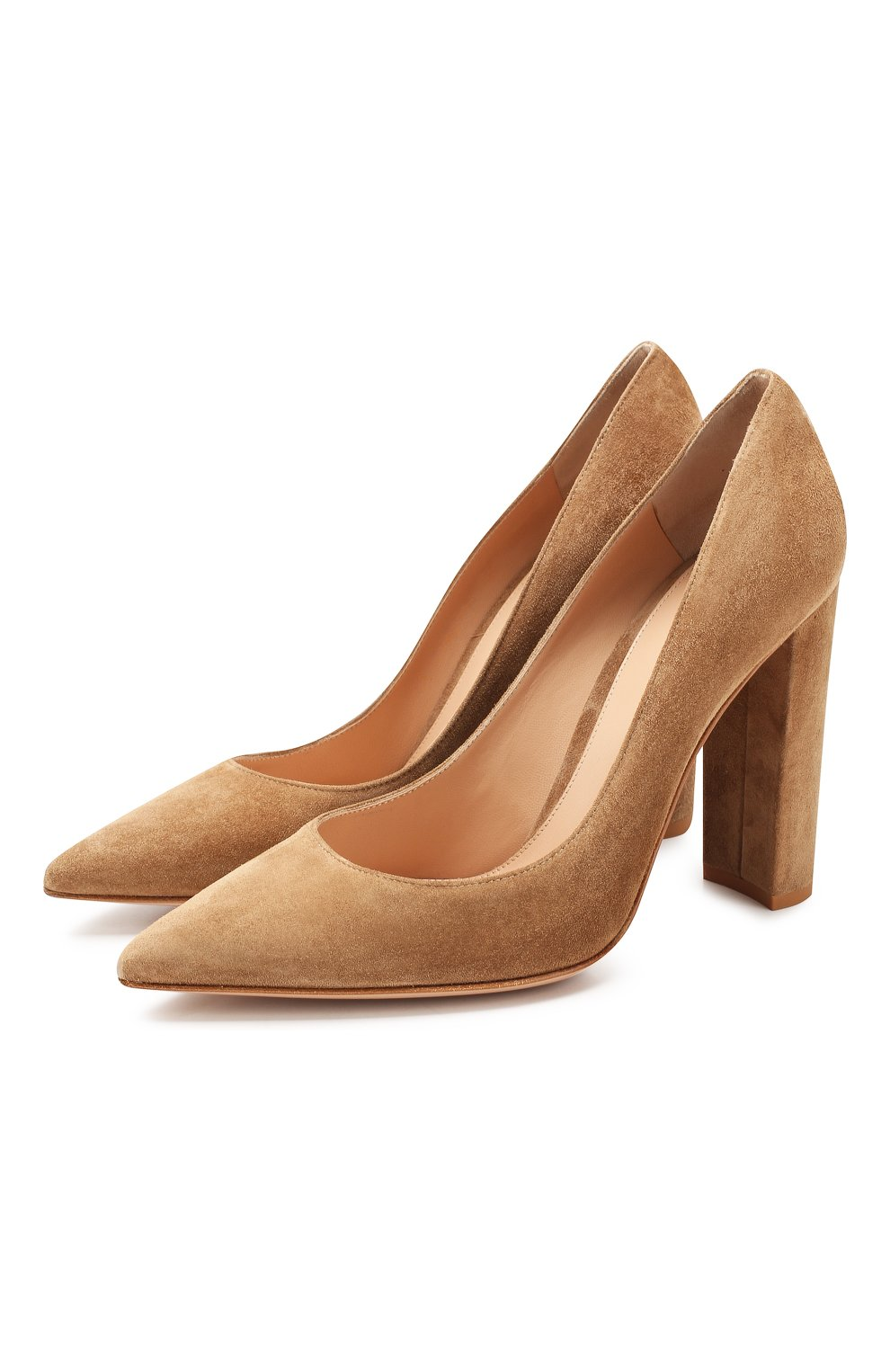 Замшевые туфли Piper  | Фото №1