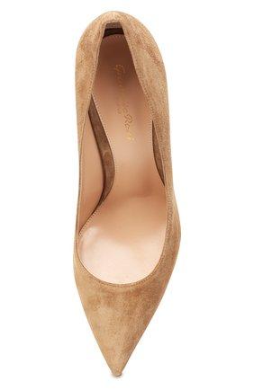 Замшевые туфли Piper  | Фото №5