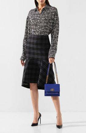 Женская сумка sharp s BALENCIAGA синего цвета, арт. 580641/0D22M | Фото 2