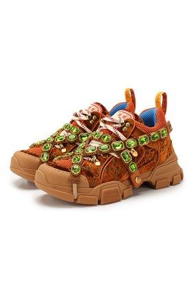 Текстильные кроссовки Flashtrack | Фото №1
