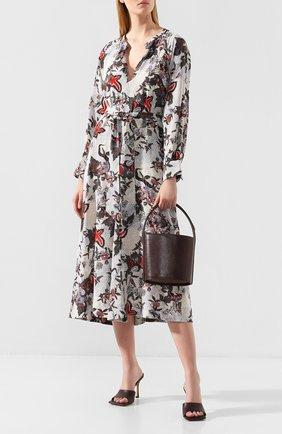 Женская сумка bisset STAUD коричневого цвета, арт. 124-9000 | Фото 2
