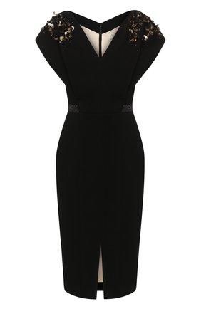 Женское платье ATELIER CAITO FOR HERVE PIERRE черного цвета, арт. C108 | Фото 1