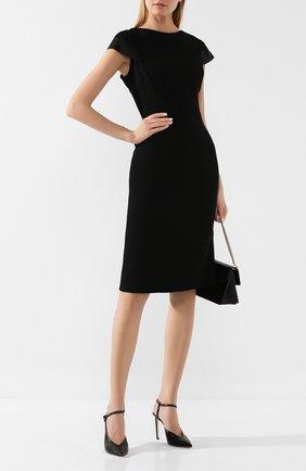 Женское платье ATELIER CAITO FOR HERVE PIERRE черного цвета, арт. C109 | Фото 2