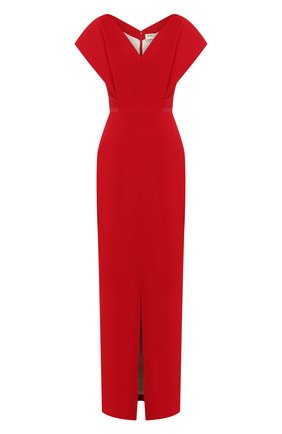 Женское платье ATELIER CAITO FOR HERVE PIERRE красного цвета, арт. C202 | Фото 1