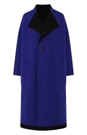 Двустороннее пальто из смеси шерсти и кашемира   Фото №1