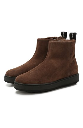 Замшевые ботинки Annecy | Фото №1