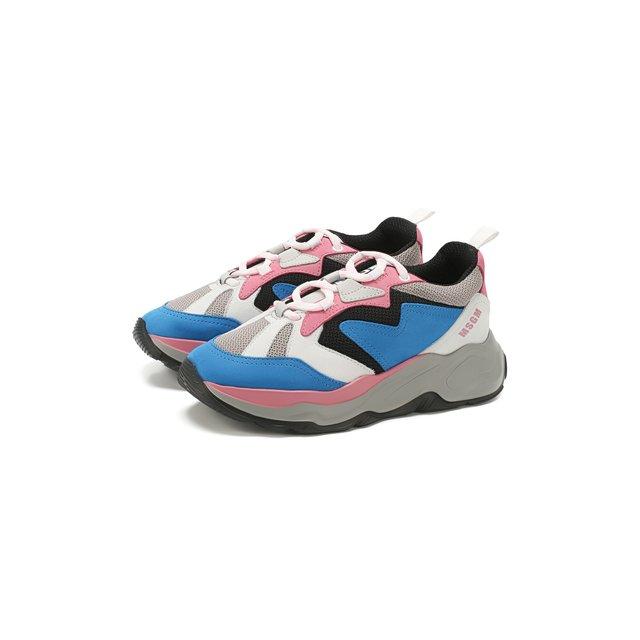 Комбинированные кроссовки MSGM — Комбинированные кроссовки