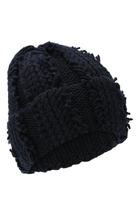 Женский кашемировая шапка INVERNI темно-синего цвета, арт. 4627CM | Фото 1