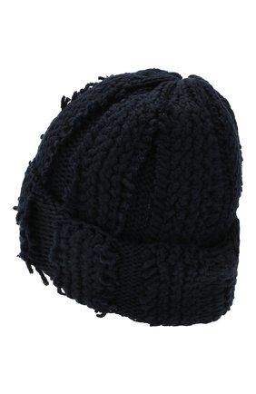 Женский кашемировая шапка INVERNI темно-синего цвета, арт. 4627CM | Фото 2
