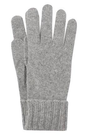 Женские перчатки из смеси шерсти и вискозы INVERNI серого цвета, арт. 4774GU | Фото 1