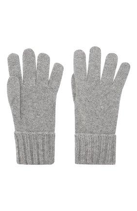 Женские перчатки из смеси шерсти и вискозы INVERNI серого цвета, арт. 4774GU | Фото 2