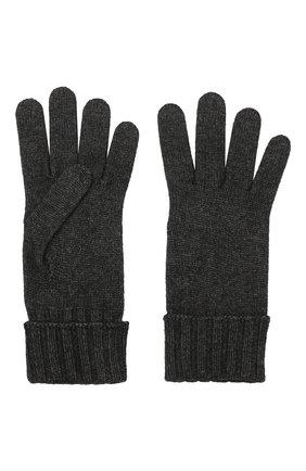 Женские перчатки из смеси шерсти и вискозы INVERNI темно-серого цвета, арт. 4774GU | Фото 2